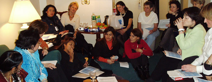 BPW Members at a meeting in New York