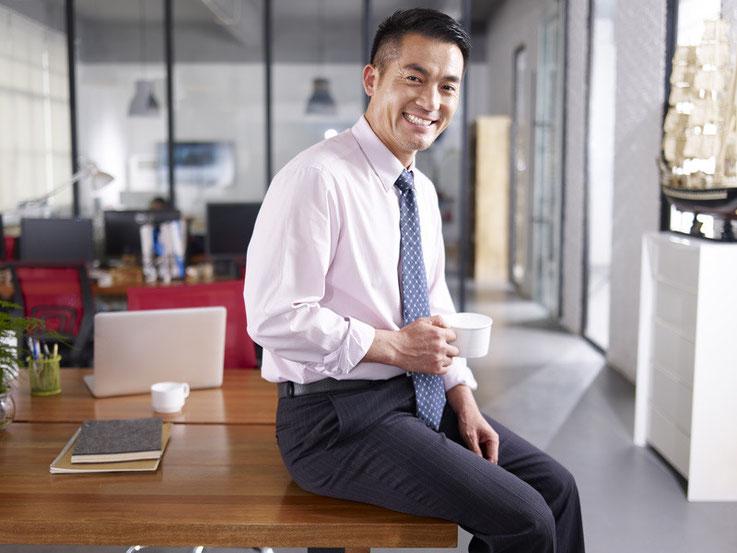 Chinesischer Personalberater in Peking, China