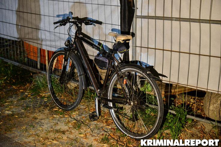 Mit diesem Fahrrad kam einer der Täter zum Tatort.|Foto: Kevin Wuske