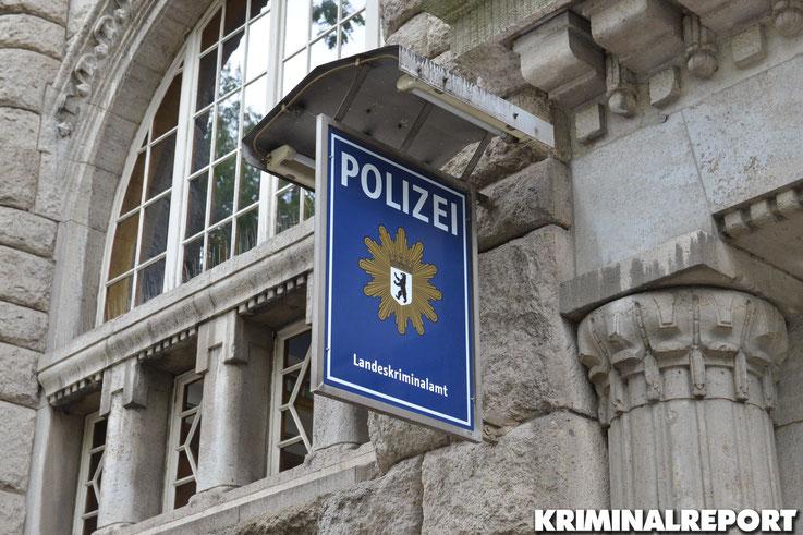 Symbolbild Landeskriminalamt Berlin.|Foto: Dennis Brätsch