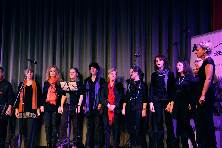 "ASK choir at ""Singing without borders"""