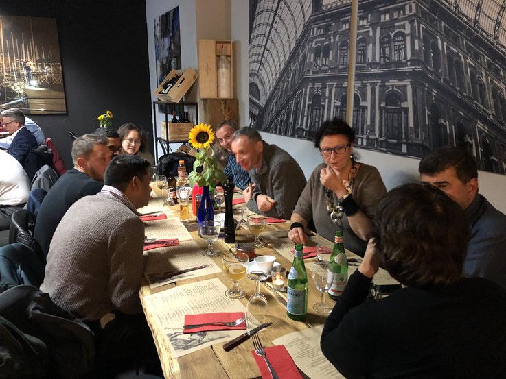 Bild (c): Sabri Dogan / Typische Neapolitanische Pizza mit ASK-Mitgliedern