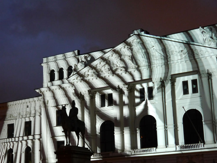 Rathaus Altona, Multimedia, Kaiser Wilhelm, Stamp Festival, Altonale