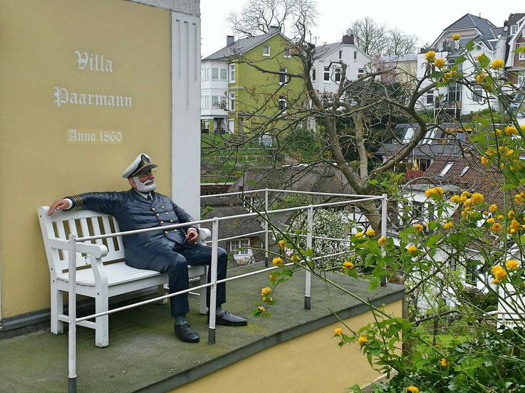 Süllberg Hamburg, Treppenviertel Blankenese