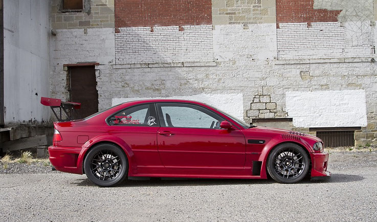 flossmann bmw e46 gtr for street