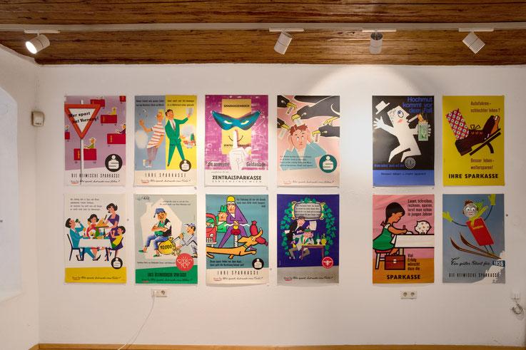 Plakat Ausstellung zum 100. Geburtstag in der Galerie Frank September 2021.
