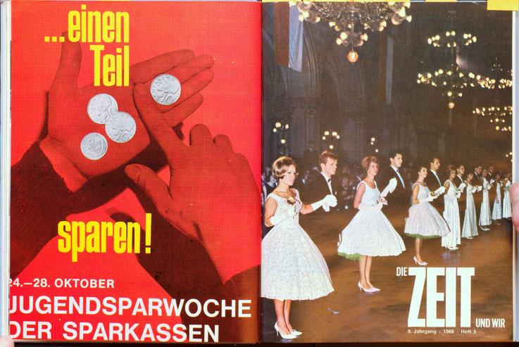 Weltspartag 1966.