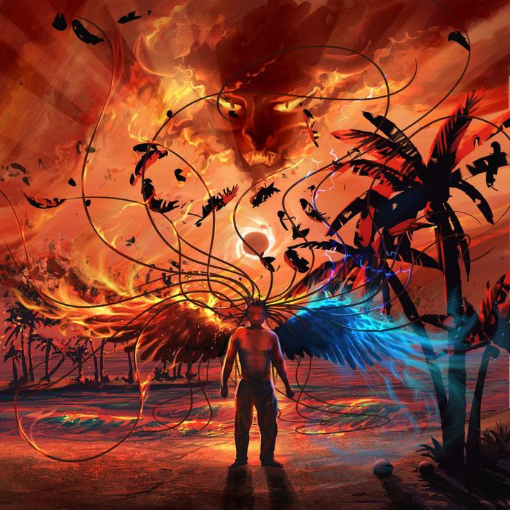 CD-Cover für einen Künstler