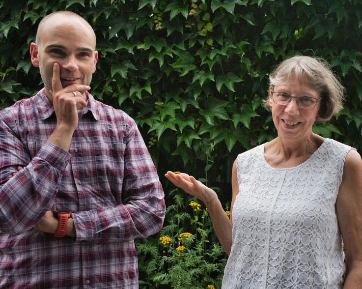 Manuel Gutschke und Ingrid Alm