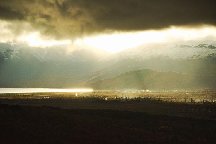 Feu et eaux, Ohrid, Macédoine