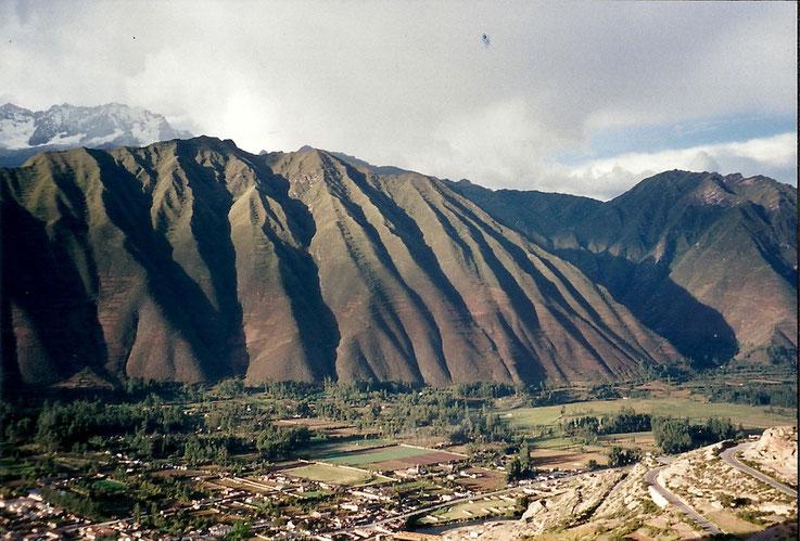 Pour ombrager la ville, Pérou.
