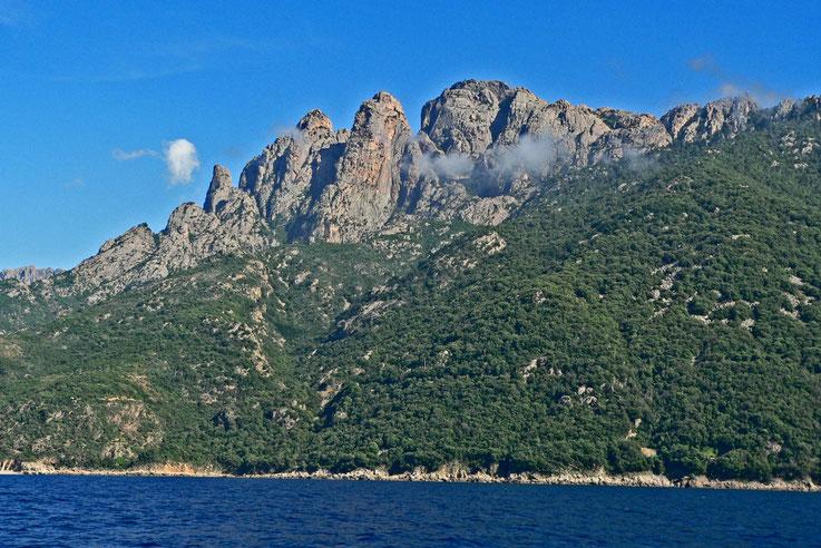 Golfe de Girolata, Corse