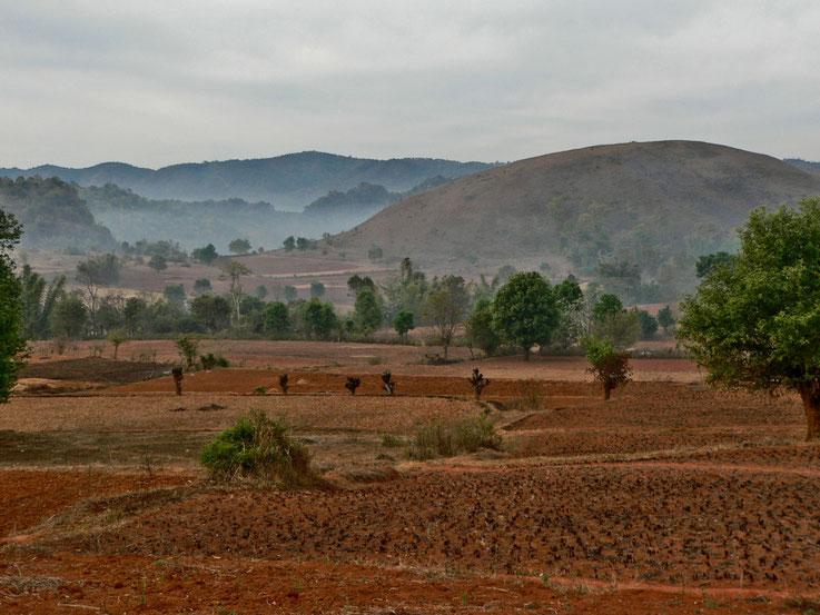 Plateau Shan, Birmanie