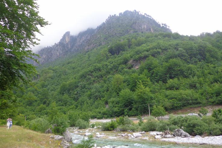 Valbone, Albanie