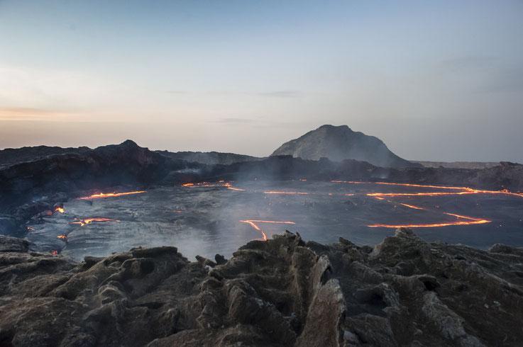 Volcan Erta Ale, Ethiopie