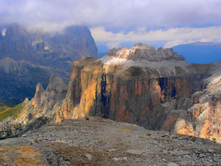 Passo Sella, Dolomites, Italie