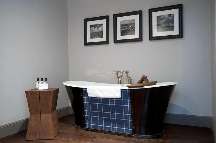 Freistehende Badewanne im Hotel Du Vin Edinburgh