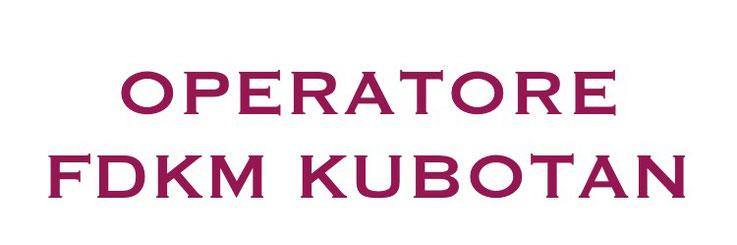 OPERATORE FDKM KUBOTAN