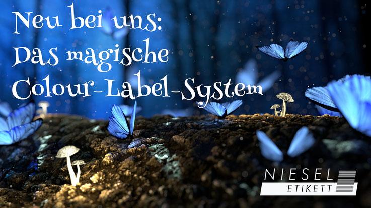 Colour Label System Niesel-Etikett