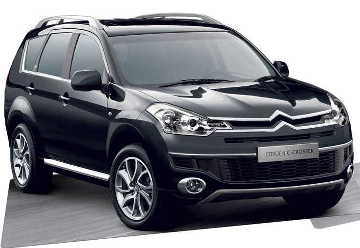 Citroen C-Crosser Owner's, Service Repair Manuals & Workshop Manuals, Parts Catalog, Wiring Diagrams free download PDF