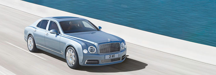The Bentley Mulsanne Speed