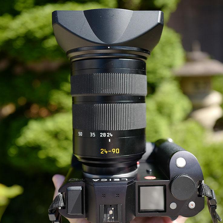 LeicaSL Leica vario-elmarit-sl 24 – 90 mm f / 2.8 – 4 Asph  Compare F Stops