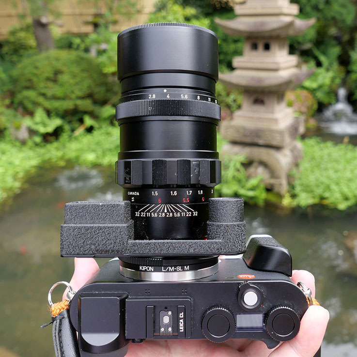 LeicaCL Elmarite 135mm F2.8 Compare F Stops Water fall