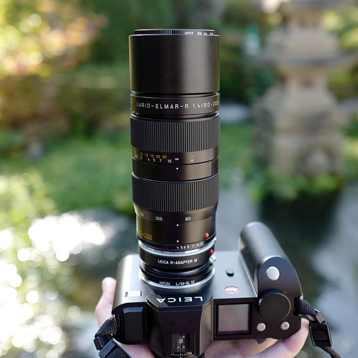 LeicaSL + VARIO-ELMAR-R 80-200mm F/4