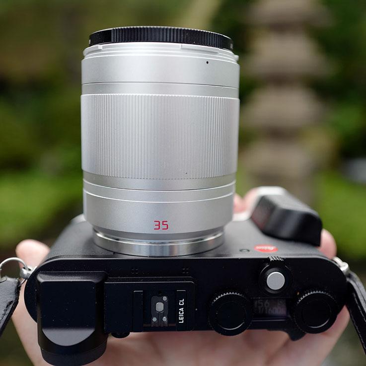 LeicaCL Summilux35mm preaspherical titanium Compare F Stops