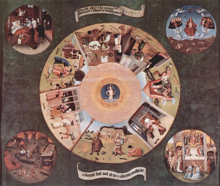 Hieronymus Bosch: Die Madrider Tafel (um 1500)