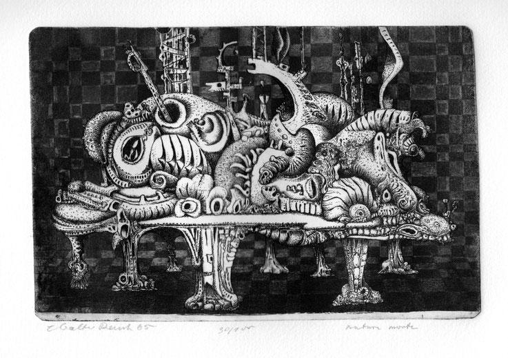 Caspar Walter Rauh: Nature morte (1965)