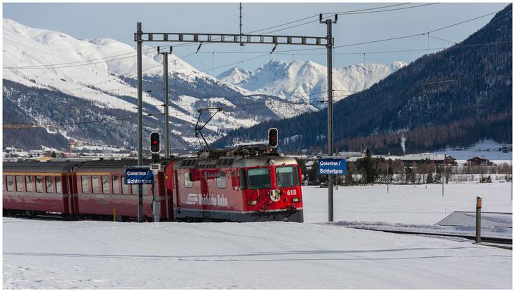 Lokomotive ZugkompositionGraubünden