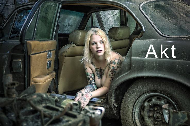 Aktfotografie Akt Tattoo