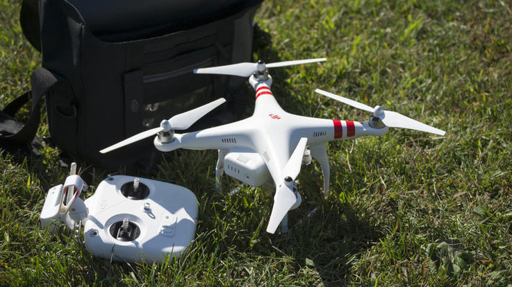 Phantom 2 Vision Plus remote control