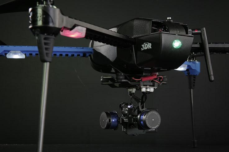 Central quadrocopters platform