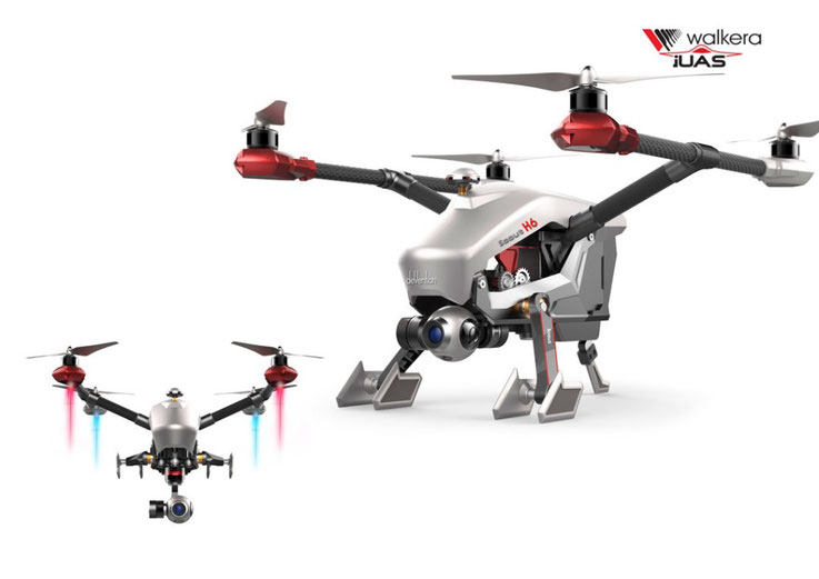 Quadrocopter Walkera Voyager 3 (Scout H6)