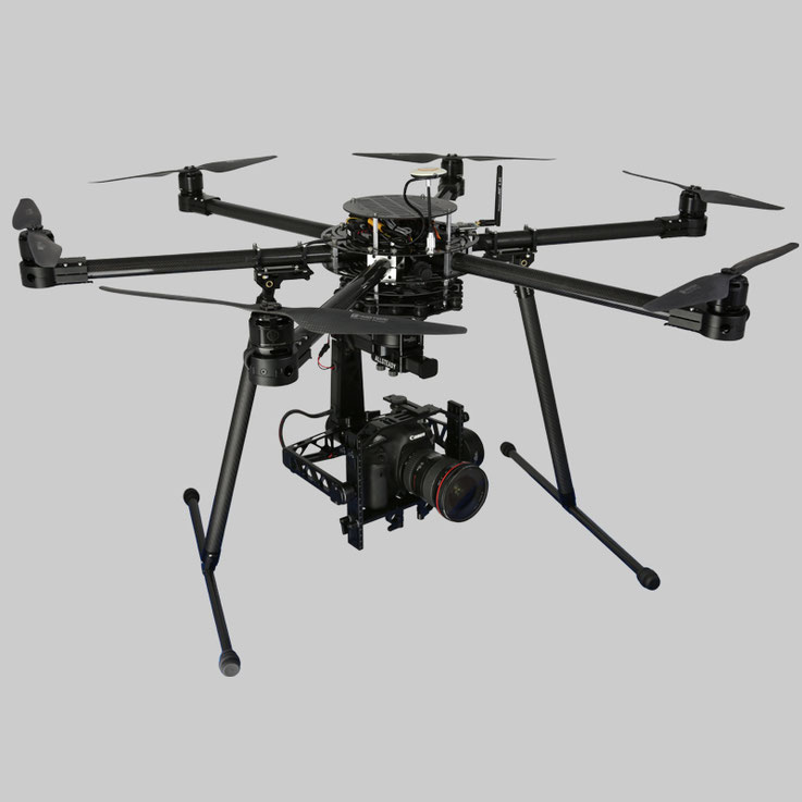 Hexacopter Turbo Ace Infinity 6