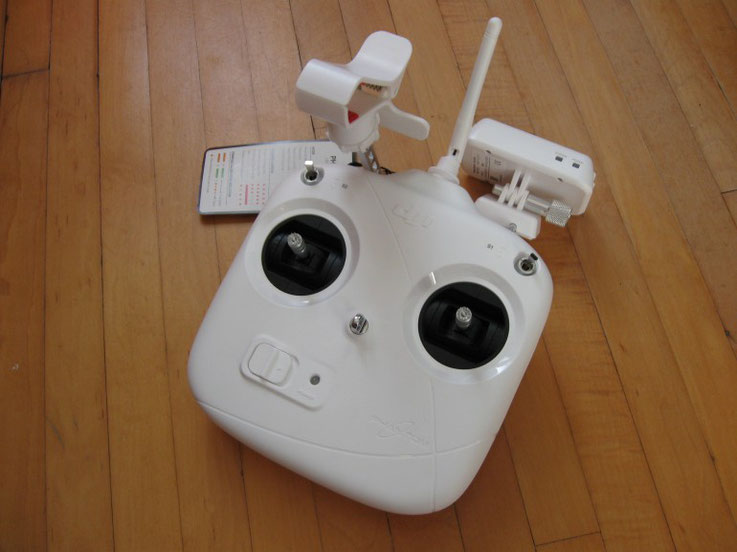 DJI Phantom 2 Vision remote control