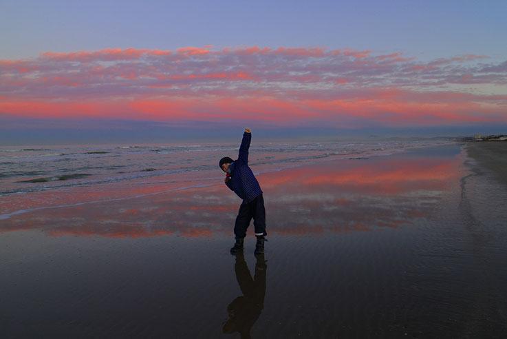Mit Ben Leon um den Jahreswechsel herum am Meer bei Senigallia...