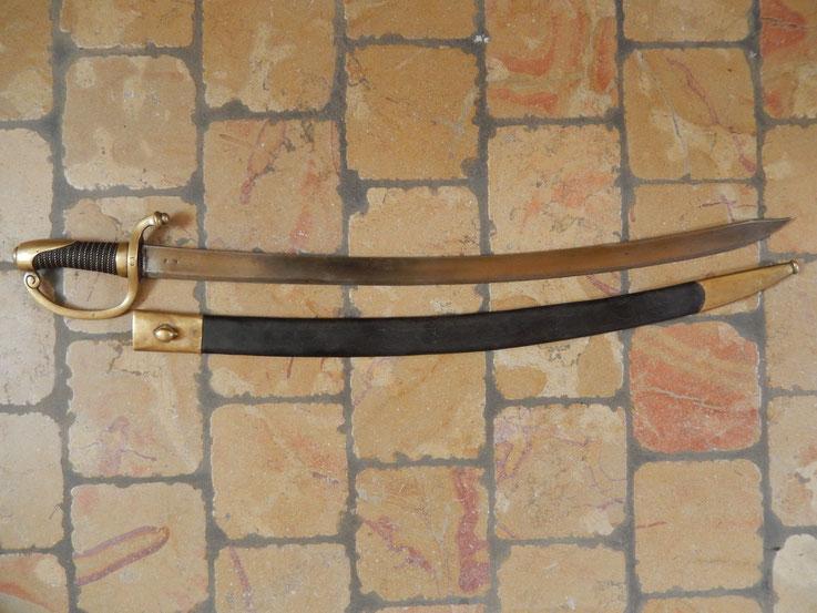 sabre briquet grenadier a pied de la garde imperiale