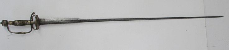 épée officier cavalerie fin 17ème