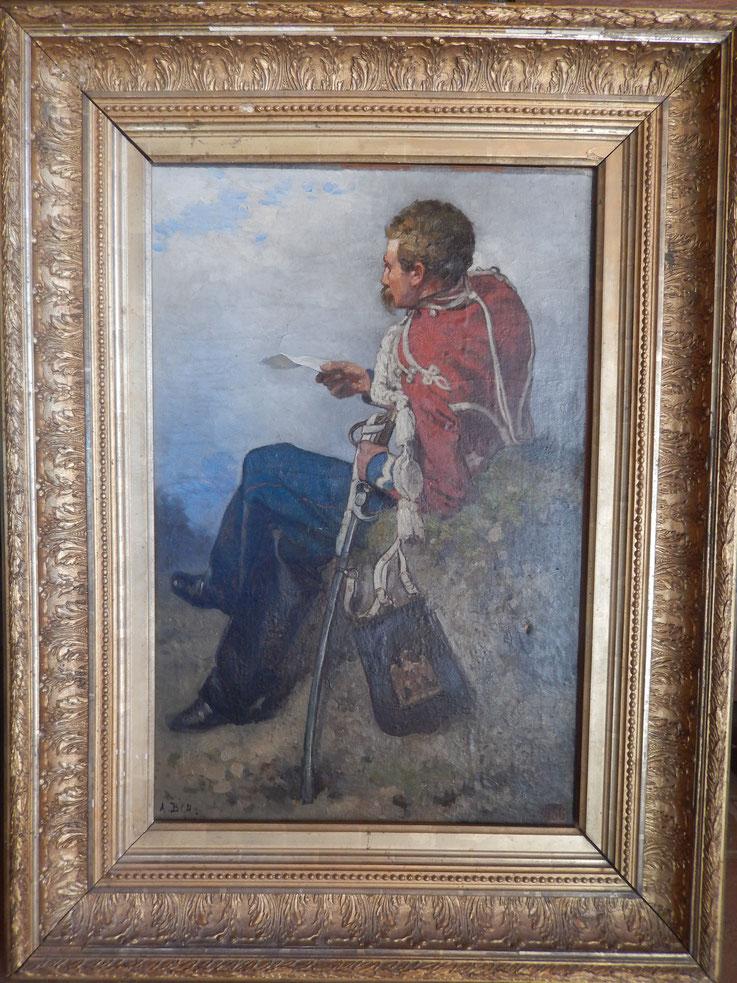 bachelin  A peintre Suisse