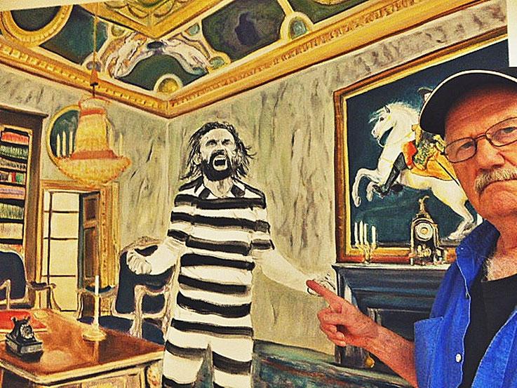 Pedro Meier – Cyril Kuhn – Kunsthaus Grenchen 2016 – »Selfie-Art-Project« by © Pedro Meier Multimedia Artist Gerhard Meier-Weg Niederbipp / Olten Kunsthaus Offspace / Bangkok – Teilnahme 21.Triennale Grenchen, Abb. Doku im Katalog, VISARTE SIKART Zürich