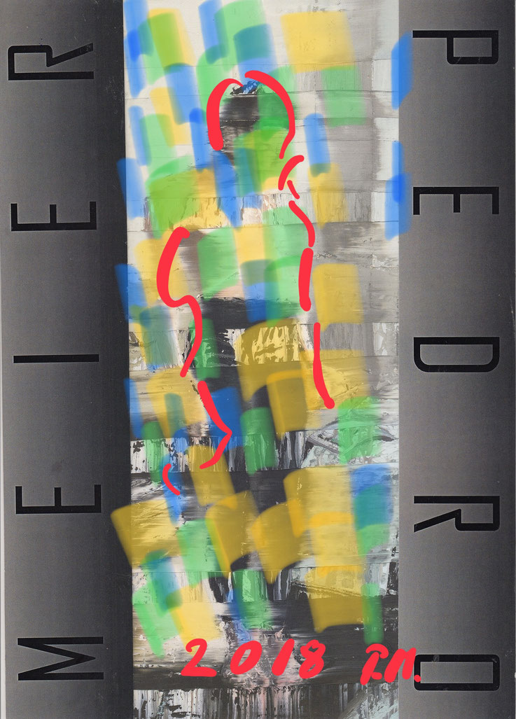 Pedro Meier – »Kein Weekend« – Artist Book 2018 – Art Work by © Pedro Meier Swiss-German Multimedia Artist, Künstlerbücher - Künstlerbuch - Malerbuch - Malerbücher - DigitalArt – MailArt, Museum MoMA, Artists' Books– FLUXUS DADA, MailArt, Collage, SIKART