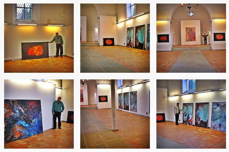 Pedro Meier Alte Kirche Härkingen – Impressionen 2003. © Pedro Meier Multimedia Artist – Ateliers: Niederbipp, Kunsthalle Olten, Gallery Bangkok BACC. SIKART ZH. PARALLELWELTEN, Amrain Books, ISBN 978-3-9525246-0-2, www.autorenwelt.de/person/pedro-meier