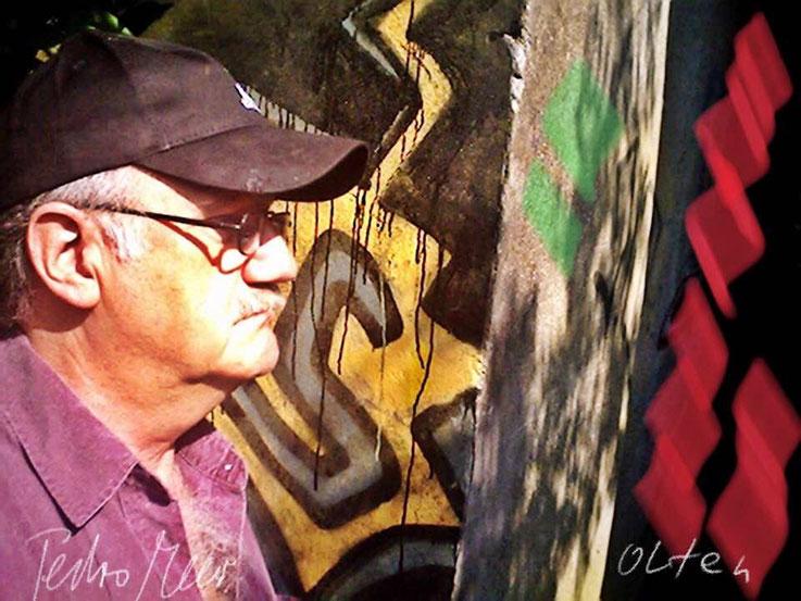 Pedro Meier – Bahnhofbrücke Olten Graffiti – PhotoArt by © Pedro Meier Multimedia Artist – »Selfie-Art-Project« 2003 – Atelier Gerhard Meier-Weg Niederbipp und Bangkok Thailand – Kunsthalle Olten Offspace. DADA FLUXUS MailArt DigitalArt VISARTE SIKART ZH