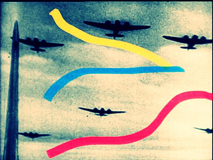 Pedro Meier Berlin Luftkrieg übermalte Fotografien, Overpainted Photographs. Bomberstaffel. Luftterror. 2018 Foto © Pedro Meier Multimedia Artist. Ateliers: Gerhard Meier-Weg Niederbipp, Kunsthalle Olten Offspace. Bangkok Art Group, Visarte, SIKART Zürich