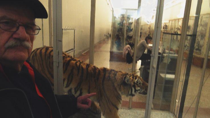Pedro Meier – Ai Weiwei – »Selfie-Art-Project with Siberian tiger« – »D'ailleurs c'est toujours les autres«, Musée cantonal des Beaux-Arts, Lausanne, (Uli Sigg – Bernard Fibicher), Pedro Meier Multimedia Artist Gerhard Meier Weg Niederbipp – Bangkok 2017