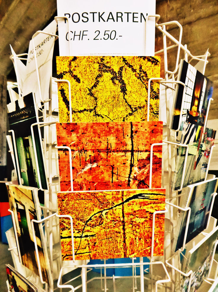 Pedro Meier Postkarten Art Campus Attisholz Galerie. Pedro Meier Grafikblätter aus Zyklus – »In Search of Lost Time – Mural Signs – Wasteland Factory« PhotoArt by Pedro Meier Multimedia Artist Niederbipp, Kunsthalle Olten. Visarte. Lexikon SIKART Zürich