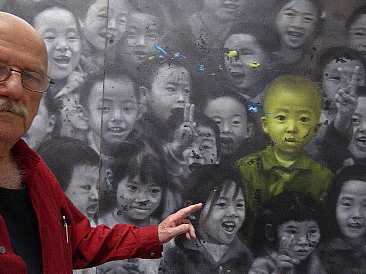 Pedro Meier Kunstmuseum Bern – Ai Weiwei – »Chinese Whispers« – Slg. Uli Sigg – »Selfie-Art-Project« by © Pedro Meier Multimedia Artist – Teilnahme 21.Triennale Grenchen 2018, siehe Abb. Doku im Katalog – Atelier: Niederbipp, Bangkok, Olten. SIKART Zürich